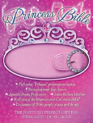ICB Princess Bible: Pink, Leatherflex