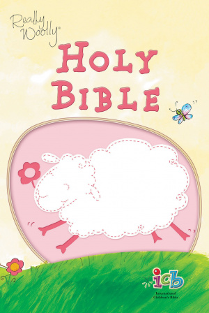 ICB Really Woolly Bible: Pink, Leathersoft