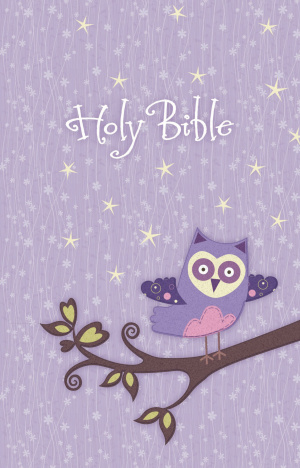 NKJV Owl Bible: Purple, Hardback