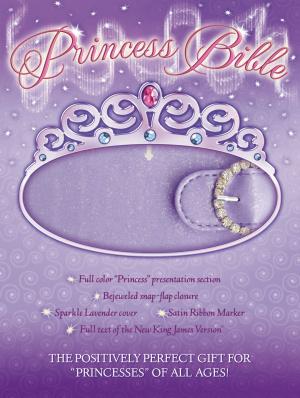 NKJV Princess Bible Lavender Magnetic Closure Imitation Leather