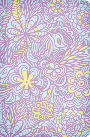 NKJV Compact Ultraslim Bible Lilac Fabric