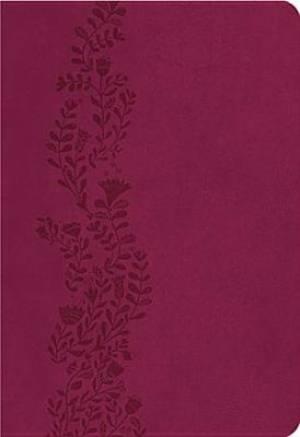 Kjv Ultraslim Lthlk Cranberry