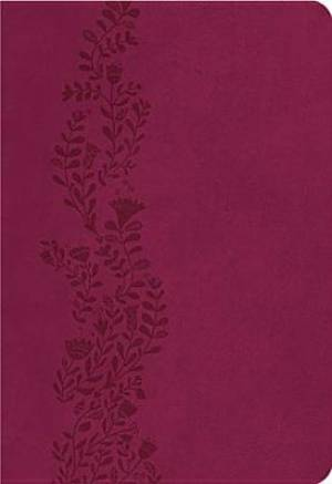 NKJV Ultraslim Bible: Cranberry, Leather Imitation