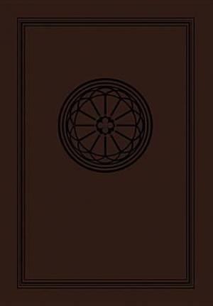 NKJV Study Bible Leathersoft Dark Chocolate