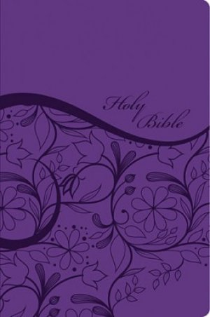 KJV Sisters in Faith Holy Bible: Grape, Imitation Leather, Thumb Indexed