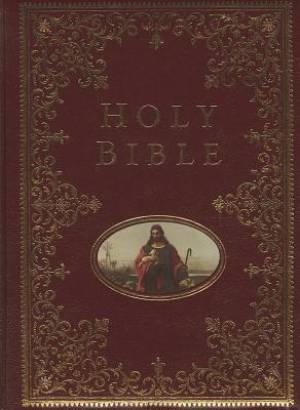 NKJV Providence Collection Family Bible: Burgundy, Hardback