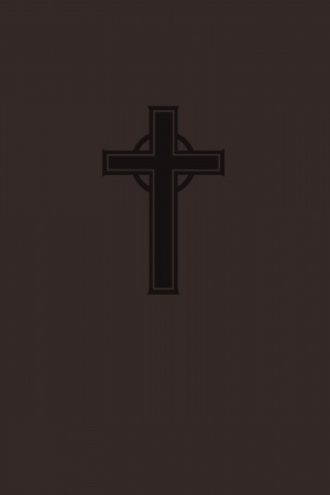NKJV Personal Size Giant Print Reference Bible Imitation Leather Brown