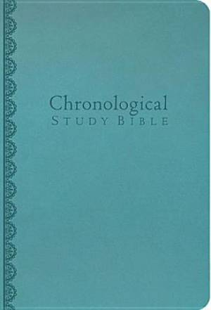 NKJV Chronological Study Bible Leatherlook Teal