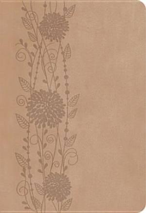 NKJV Compact Ultraslim Imitation Leather Floral