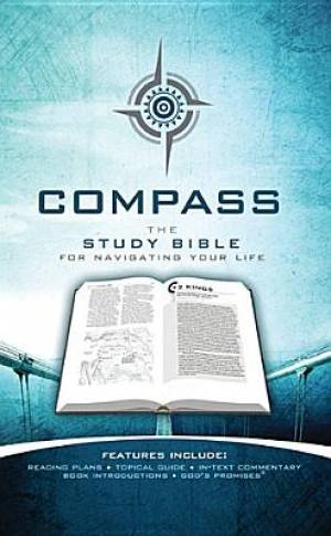 Compass Study Bible H/b Gy