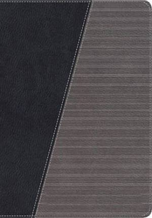 NKJV Modern Life Study Bible, Imitation Leather Grey Thumb Index