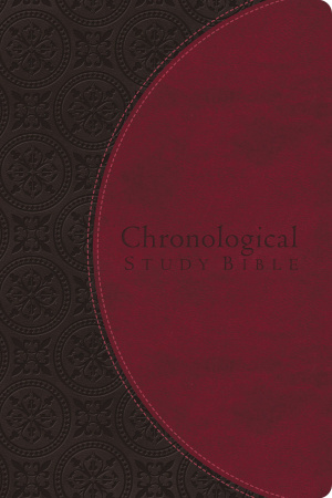 NIV Chronological Study Bible Imitation Leather Brown Berry