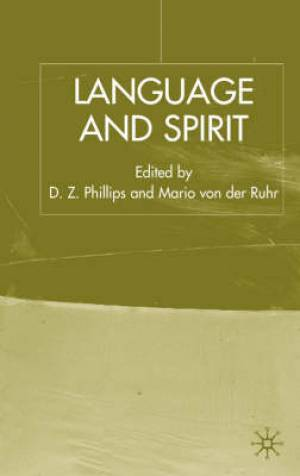 Language and Spirit
