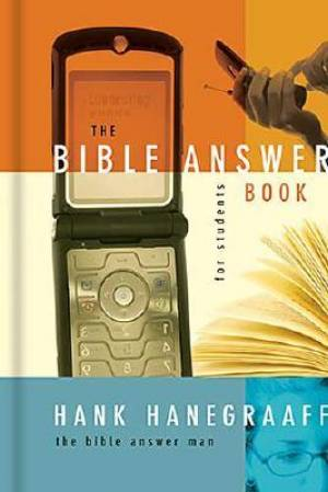 Bible Answer Book For Students The Hb