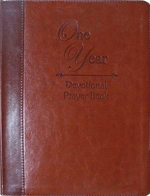 One Year Devotional Prayer Book Lthflex