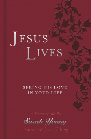 Jesus Lives Devotional Lthflex