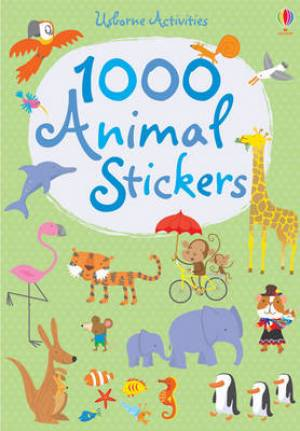 1000 Animal Stickers