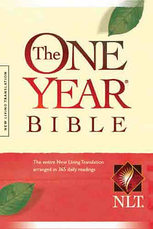 NLT One Year Bible: Hardback, Compact