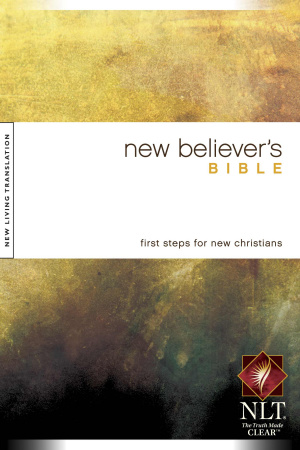 NLT New Believers Bible: Paperback