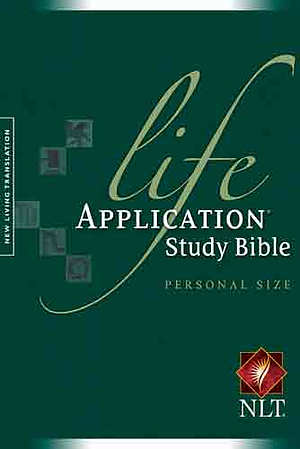 NLT Life Application Study Bible: Hardback, Personal Size