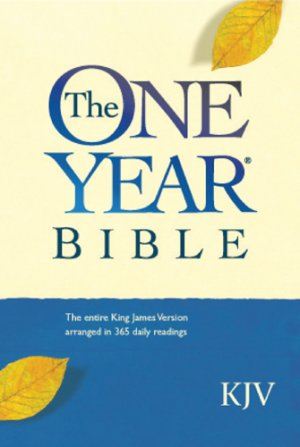 KJV One Year Compact Bible: Paperback, One Year Bible