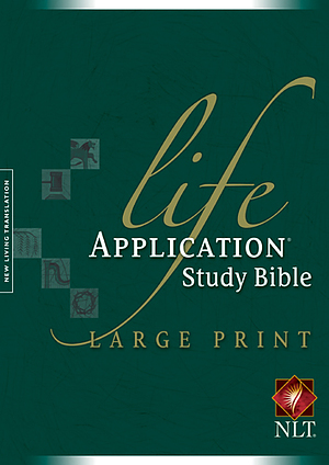 NLT Life Application Large Print, Bible: Hardback