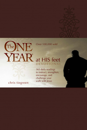 One Year At His Feet Devotional Imitation Leather