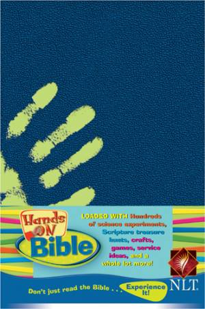 NLT Hands On Bible: Jade Planet, Imitation Leather