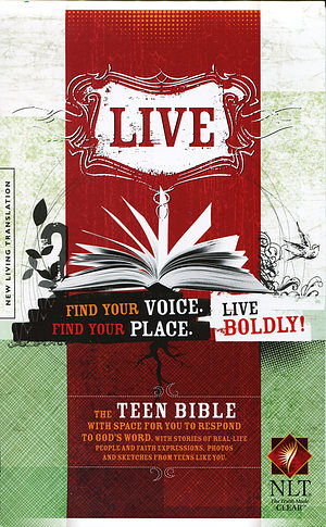 NLT LIVE Teen Bible: Paperback