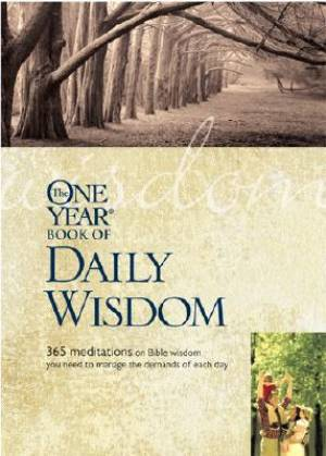 One Year Book Of Daily Wisdom The Pb