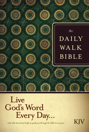 KJV The Daily Walk Bible Hardback