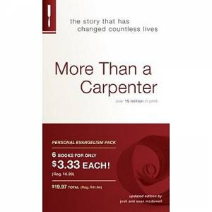 More Than A Carpenter Personal Evangelism Packs