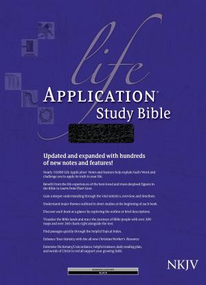 NKJV Life Application Study Bible: Black, Bonded Leather, Thumb Indexed