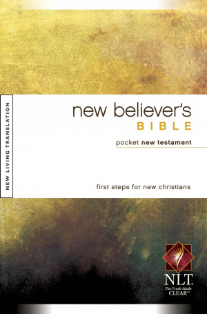 NLT New Believer's Bible Pocket New Testament: Paperback