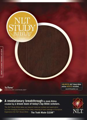 NLT Study Bible: Chocolate, Imitation Leather