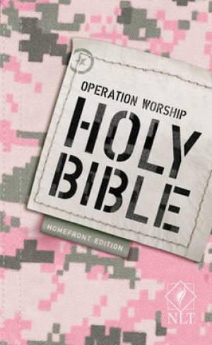 NLT Operation Worship: Homefront Compact Bible - Paperback