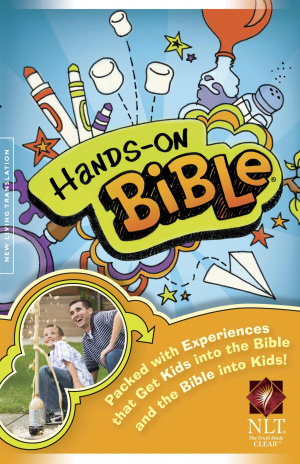 NLT Hands On Bible Revised Edition Hardback