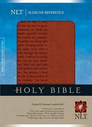 NLT Slimline Reference Bible, Psalm 23