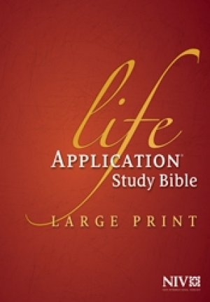 NIV Life Application Large Print