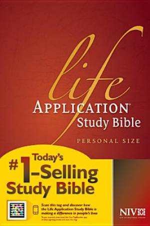 NIV Life Application Study Bible: Personal Size, Paperback