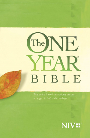 NIV The One Year Bible: Paperback