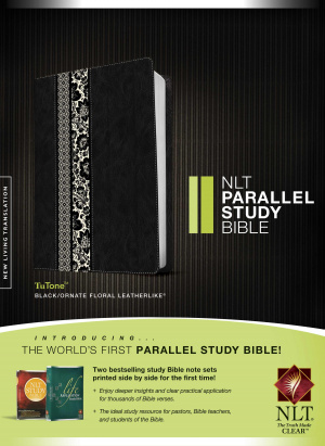 NLT Parallel Study Bible Tutone Leatherlike