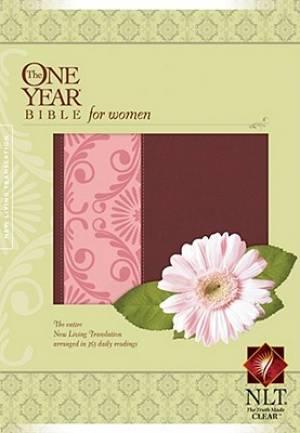 NLT One Year Bible For Women Tutone Moch
