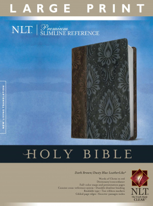Nlt Prem Slim Ref Bible Lp Tutone Lthlk