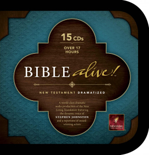 NLT Bible Alive New Testament Audio CD