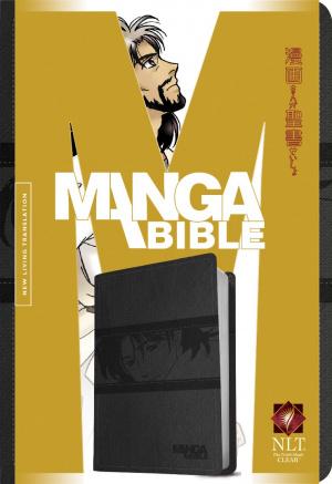 NLT Manga Bible: Black, Imitation Leather