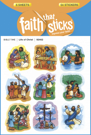 Life Of Christ Stickers