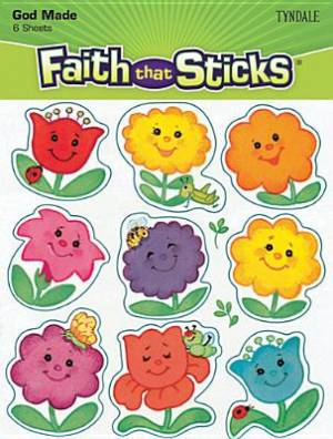 Happy Flowers Sticknsniff Stickers