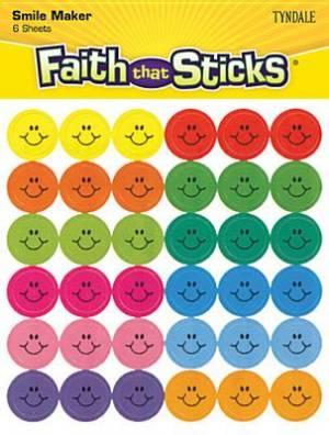 Mini Happy Face Stickers