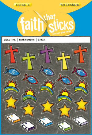 Faith Symbols Stickers